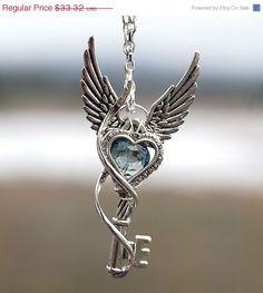 V-Day Sale Within My Heart Key Necklace by KeypersCove on Etsy