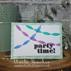 Neet & Crafty: Muse Challenge #265 - Party Time!