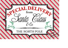 Special Delivery Labels for your Christmas Packages | The Life of ...