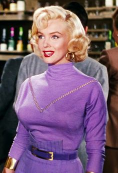 "Marilyn in ""Gentlemen Prefer Blondes"""