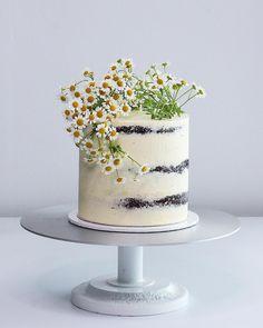 Ideas For Cake Chocolate Drip Swiss Meringue Buttercream White Chocolate Cake, Chocolate Drip, Swiss Meringue Buttercream, Buttercream Cake, White Dinner, Cake Pop Bouquet, Caramel Treats, Vanilla Bean Cakes, Cake Decorating For Beginners