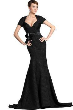 eDressit Black V-neck Backless Evening Dress (00126100)