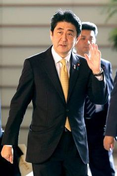 "That moment when you see Shinzo Abe and think, ""that's my prime minister!!""lol My love for your country is deep prime minister san"