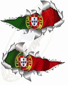 Portuguese eagle with logo for flag design  All things Portuguese