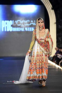 PFDC L'Oreal Bridal Fashion Week 2013 – Nomi Ansari Pakistani wedding clothes