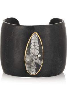 Kevia Horn  and osthoceras fossil cuff