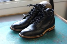 Viberg for 3sixteen: Stealth Service Boots. - Best boot ever made IMO. #3sixteen #viberg ⓀⒾⓃⒼⓈⓉⓊⒹⒾⓄⓌⓄⓇⓀⓈ ★★★★★★★★★★★★★★★