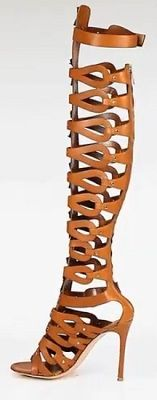 """Altazurra Gladiator Sandals ....Drop Dead Bitches.. I see you looking wit  your looking ass ... """" says these fine booties"""