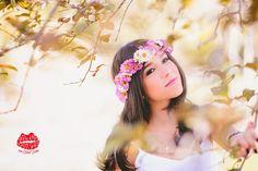 15 anos - fotografia de 15 anos - fotos de 15 anos -  coroa de flores - 15th birthday #15anos #fotografiade15anos