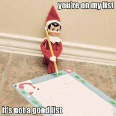 List Of The Day: Creepy Shelf Elf Photos Of The Day