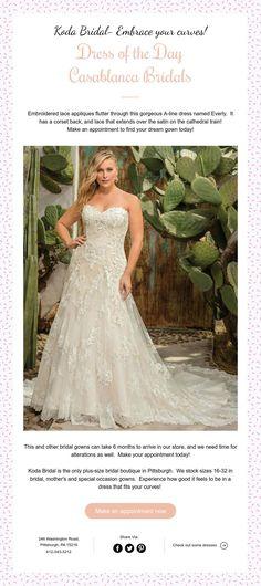 141 best Wedding Dresses at Koda Bridal-A plus size wedding boutique ...