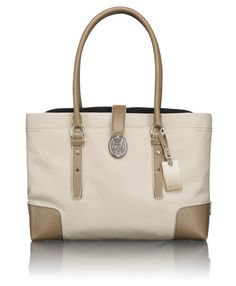 Villa Turin Shopper Tote at Tumi. . You can reduce plastic waste in style with professional-looking tote bags.