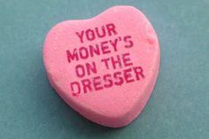 worst valentine'd day gifts