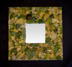 Handmade Mediterranean Mirror with by marmaraCreaciones on Etsy, €50.00