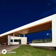 Espectacular entrada al fraccionamiento de #CasasPlatino #Zibata por #CadenaArquitectos