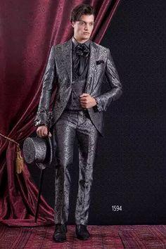 Acquista All'ingrosso 2017 Giacche Tuxedo Verde Abiti Da Uomo Slim Fit 3 Pezzi Set Bianco Elegante Abito Da Ballo Di Design Grigio Costume Homme
