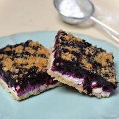 Koláč z drobenkového těsta, s tvarohem a borůvkami Blueberry, Food And Drink, Cooking, Cake, Desserts, Kitchen, Tailgate Desserts, Berry, Deserts