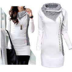 Fashion womens winter lange mouw capuchon jacket coat warm hoodeds jumper tops in Hallo! Van harte welkom om onze winkel!Kwaliteit is de eerste met de beste service. Alle klanten zijn onze vrienden.Fash van hoodies en sweatshirts op AliExpress.com | Alibaba Groep