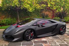 O...M....G... I would look so good in this !!  Lamborghini Sesto Elemento ($2.2M USD supercar)