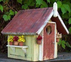 A cute Bird House for the backyard