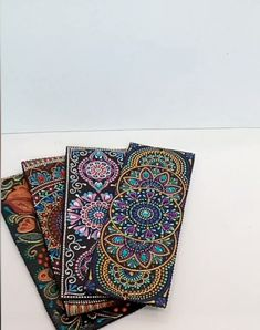 Hand-painted leather bookmarks, Personalized bookmarks, Unique gift for valentines day, Bookmark set - Very beautiful handmade bookmarks made of genuine leather. Designer acrylic painting using point-to - Mandala Art Lesson, Mandala Artwork, Mandala Drawing, Mandala Painting, Personalized Bookmarks, Handmade Bookmarks, Mandala Dots, Mandala Design, Dot Art Painting