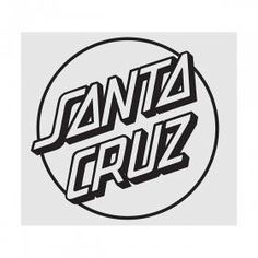 Santa Cruz Shirt, Santa Cruz Logo, Santa Cruz Stickers, Santa Cruz Clothing, Hand Sticker, Mission Viejo, Hand Logo, Band Shirts, Dots