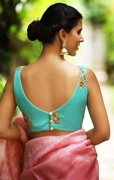 Bookeventz brings to you up-to-the-minute, latest vogue blouse designs! This wedding season get ready to sweep all the guests of their feet as you try on these-trending bridal blouse designs Saree Blouse Neck Designs, Fancy Blouse Designs, Bridal Blouse Designs, Indian Blouse Designs, Sari Design, Amy Jackson, Designer Saree Blouses, Designer Blouse Patterns, Blouse Lehenga