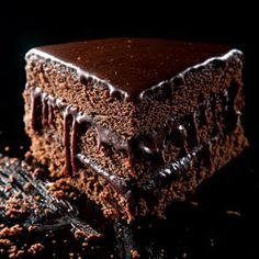 Chocolate Cake... SUPER Moist Chocolate Layer Cake (1) From: Saveur, please visit