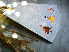 WhiteGold Christmas Visačky na dárky