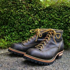 WESCO JOBMASTER, Sole Repair  6Height, Cow BK, Lace-TO-Toe,100Sole  #mambograndly #WESCO #JOBMASTER #Repair