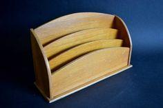 Antique Letter Box Pilot  1930s Letter Cabinet 3 Tier in Oak