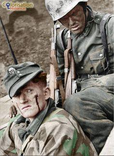 Romania 1943 / 1944 German soldiers in the Carpathians.