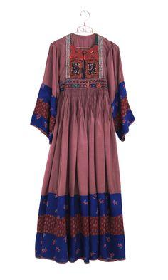 Afghan floral dress