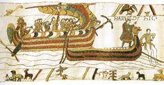 bayeux broderie : vente de kits à broder sur la tapisserie de bayeux et autres motifs 8 rue saint Loup 14400 bayeux