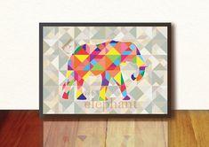 Geometric Art Baby Boy Girl Nursery geometric by TANGRAMartworks, $19.99