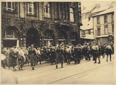 Protest in Hannover, 1933