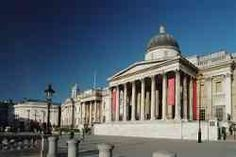 Londra - Esterno della National Gallery