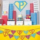 Festa de criança - tema Super-herói