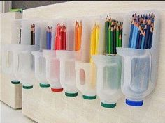 Cool Idea for Organizing Art Supplies