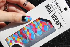 Nailz Craze: Scratch Nail Wraps in Prismatic + Giveaway