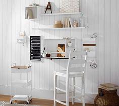 Build Your Own - Wyatt Workspace - White #potterybarn