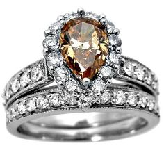 chocolate diamond rings - Google Search