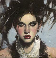 Malcolm Liepke... | Kai Fine Art Artist Painting, Woman Painting, Figure Painting, Portraits, Portrait Art, Portrait Paintings, Malcolm Liepke, Fine Art Paper, American Artists