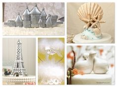 Specialty Theme Wedding Cake Toppers