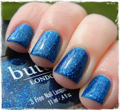 A Girl and Her Polish: butter LONDON Rock Your Colour Review and Swatches Inky Six