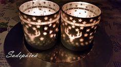 Sadepäivän pisaroita Candle Holders, Candles, Porta Velas, Chandelier, Pillar Candles, Lights, Candlesticks, Candle