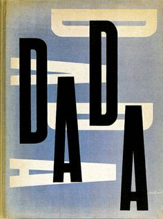 """Paul Rand cover design for """"The Dada Painters and Poets"""" 1951, published by Wittenborn & Schultz.  This really was an awakening for American..."""