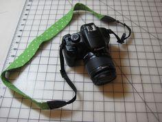 Fat Quarter Friday: Simple Camera Strap Cover | Awaiting Ada