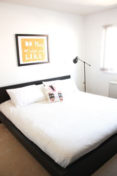 Simple Master Bedroom Makeover