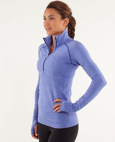 I might have to stop at lululemon on the way home- this is calling to me! RUN: Swiftly Tech 1/2 Zip